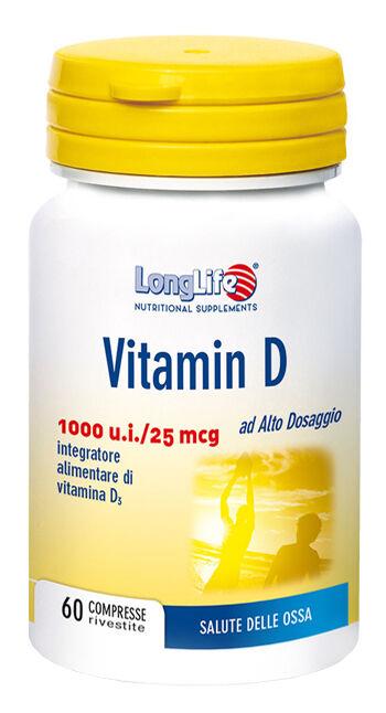 Phoenix Longlife Vitamina D3 1000ui 60 Compresse