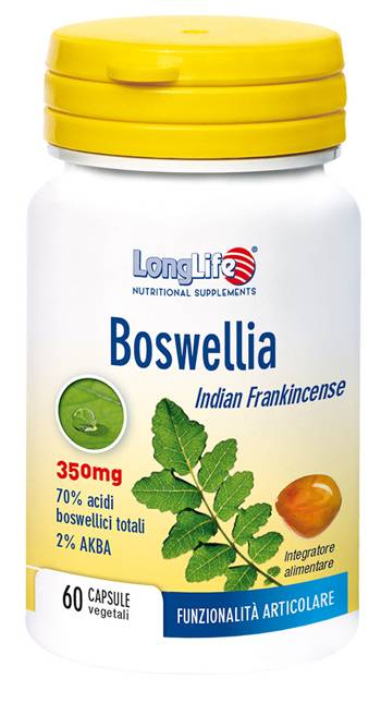Phoenix Longlife Boswellia 60 Capsule Vegetali