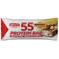 Biovita Srl Why Sport 55 Protein Bar Barretta Nocciola/gianduia 55 G