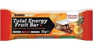namedsport srl barretta energetica total energy fruit choco-apricot 35 g