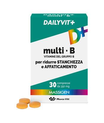 Marco Viti Farmaceutici Spa Dailyvit+ Multi B Vitamine Del Gruppo B 30 Compresse