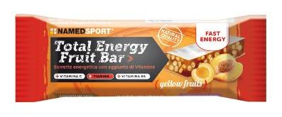 namedsport srl barretta energetica total energy fruit yellow fruit