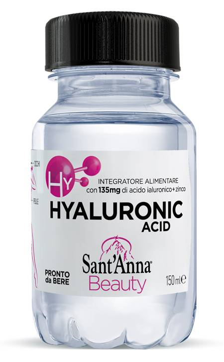 Fonti Di Vinadio Spa Sant'Anna Beauty Hyaluronic Acid 150 Ml