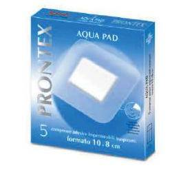 Safety Spa Garza Compressa Prontex Aqua Pad 10x8cm 5 Pezzi