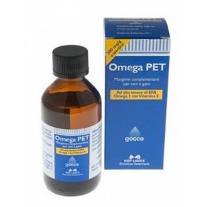 N.B.F. Lanes Srl Omega Pet Olio Flacone 100 Ml