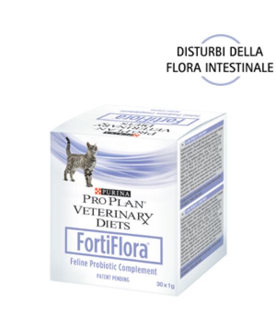 Nestle' Purina Petcare It. Spa Pro Plan Fortiflora Gatto Integratore Probiotico 5buste Da 1g