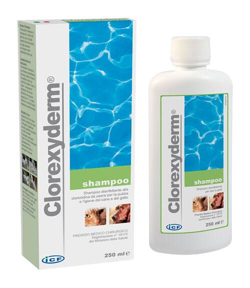 I.C.F. Ind.Chimica Fine Srl Clorexyderm Shampoo 250 Ml