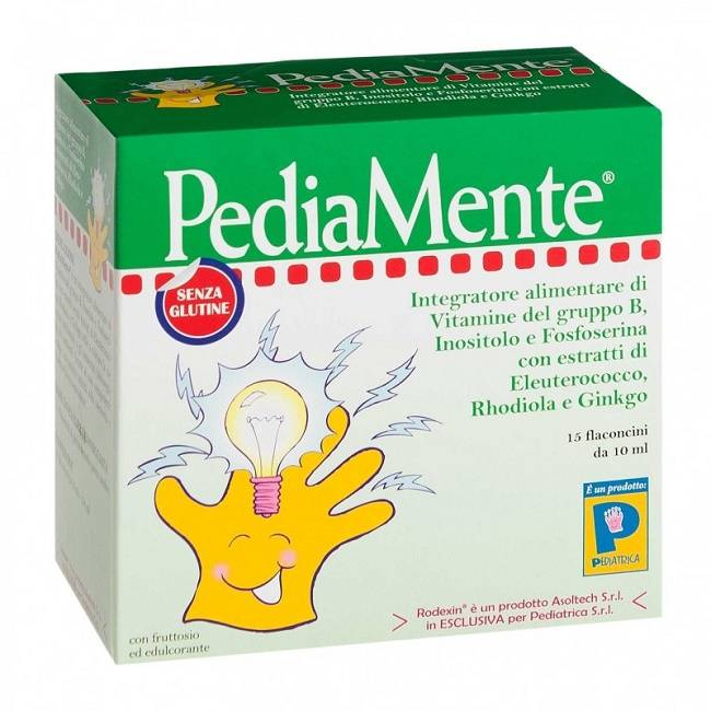 Pediatrica Srl Pediamente 15 Flaconcini 10 Ml