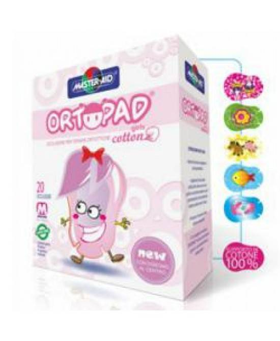 Pietrasanta Pharma Spa Cer Ortopad Cotton Girls J 20p