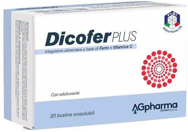 Ag Pharma Srl Dicofer Plus 20 Bustine