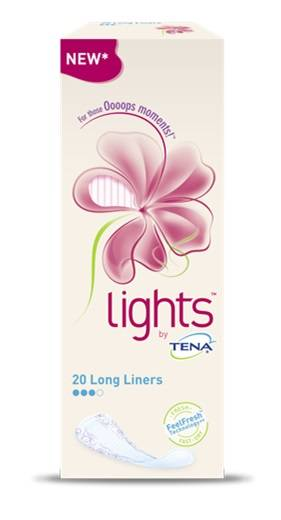 Sca Hygiene Products Spa Salvaslip Lungo Lights By Tena Long 20 Pezzi