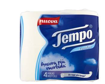 Essity Italy Spa Tempo Carta Igienica Maxi Comf