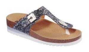 dr.scholl's div.footwear scarpa glam ss 1 glitter w pewter tomaia in glitter fodera in microfibra sottopiede in microfibra suola eva 40