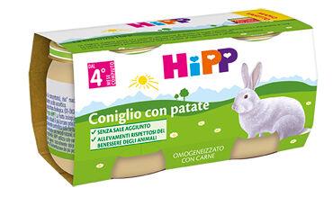 Hipp Italia Srl Hipp Bio Omogeneizzato Coniglio Con Patate 80 G 2 Pezzi
