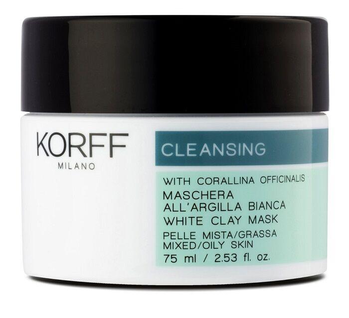 korff srl(div. ist. ganassini) korff cleansing maschera argilla bianca 30 ml