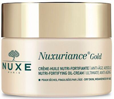 laboratoire nuxe italia srl nuxe nuxuriance gold crema olio nutriente fortificante 50 ml