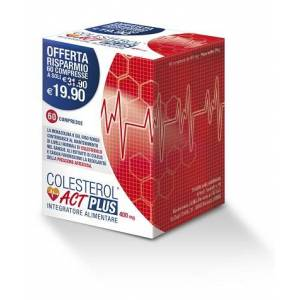 F&f Srl Colesterol Act Plus 60 Compresse