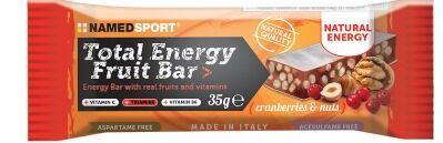 namedsport srl total energy fruit bar cranberry & nuts 35 g