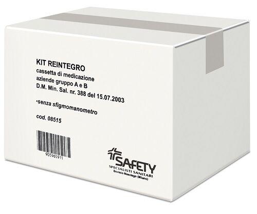 safety spa kit reintegro cassetta pronto soccorso gruppo a/b