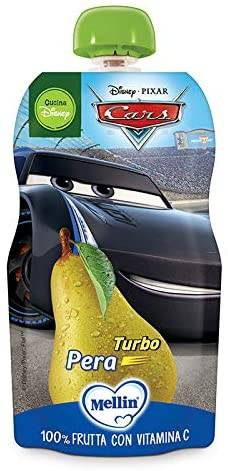 Mellin Spa Pouch Disney Cars Pera 110 G
