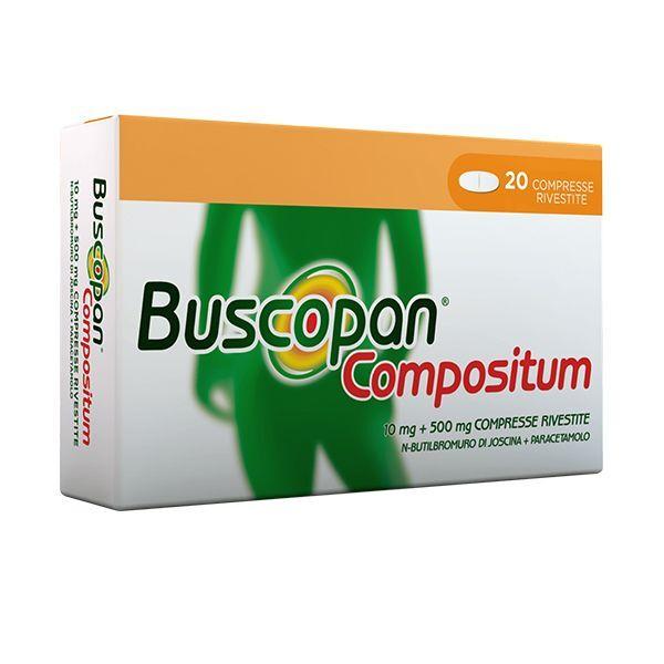 Boehringer Ingelheim It.Spa Buscopan Compositum*20cpr Riv