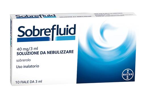 Bayer Spa Sobrefluid*nebul 10f 40mg 3ml