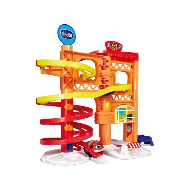 Chicco Gioco Turbo Ball Playset 2 Fire Station