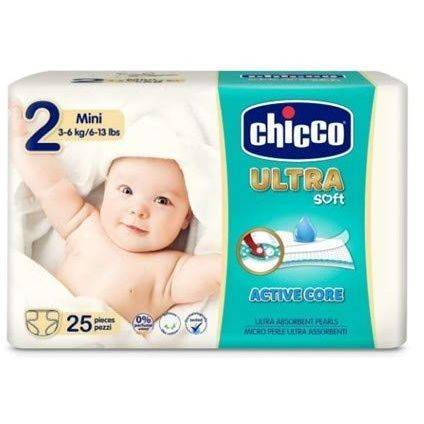 Chicco PANNOLINO ULTRA CHICCHO MINI 25 X 10