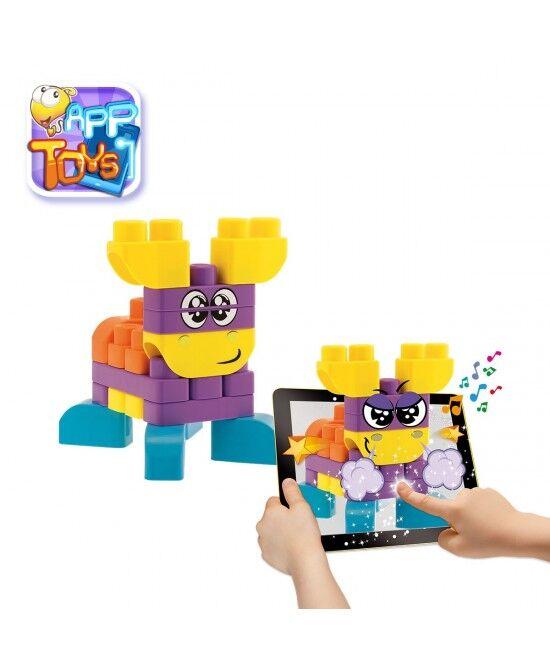 chicco giocattoli costruzioni animali della fattoria 40 pezzi +12mesi