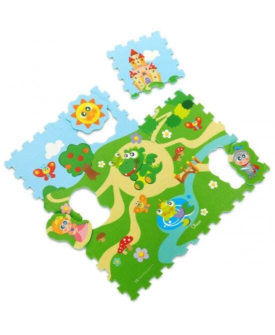 Chicco Gioco Tappeto Puzzle Castello