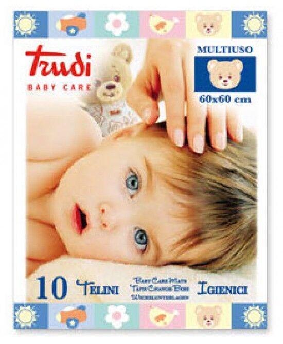 silc spa trudi baby care telino igienico multiuso 60x60cm 10 pezzi