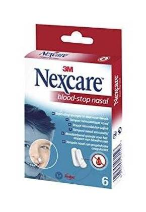 3M Tampone Nasale Emostatico Blood Stop Nasal 6 Pezzi