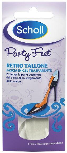 Dr.Scholl'S Div.Rb Healthcare Plantare Ortopedico Per Retro Tallone Party Feet Scholl Gel Activ 1 Paio
