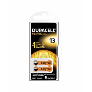 Procter & Gamble Srl Duracell Easy Tab 13 Arancio Batteria Per Apparecchio Acustico