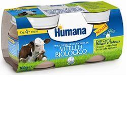 Humana Italia Spa Humana Omogeneizzato Vitello Bio 2 Vasetti 80 G