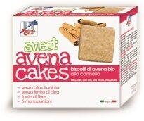 La Finestra Sul Cielo Fsc Sweet Avena Cakes Biscotti Di Avena Alla Cannella Bio Senza Lievito Di Birra Senza Latte Con Olio Di Girasole Senz Aolio Di Palma 250 G