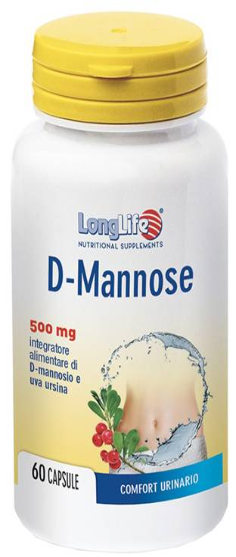 Phoenix Longlife D-Mannose 60 Capsule