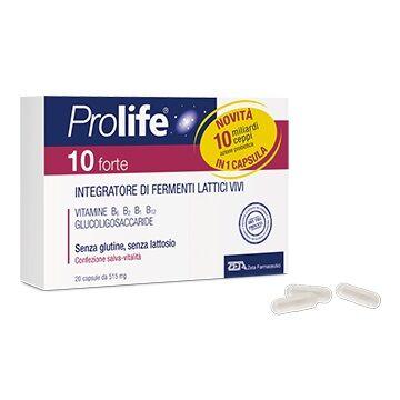 Zeta Farmaceutici Spa Prolife 10 Forte 20 Capsule