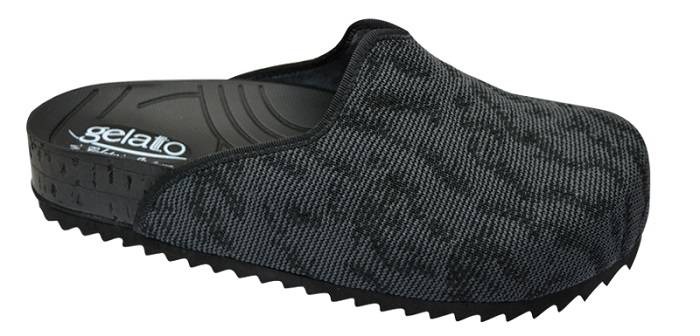 Gelateria International Pantofola Woodstock Soft Black 35/36
