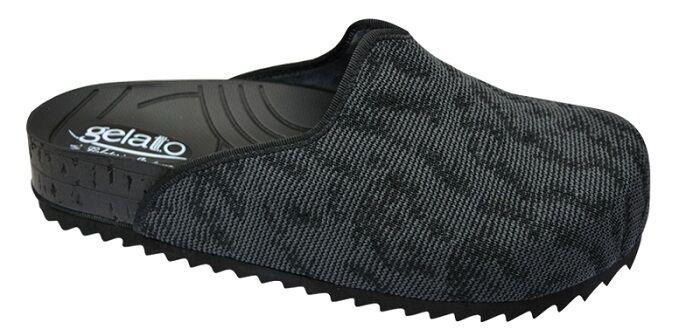Gelateria International Pantofola Woodstock Soft Black 37/38