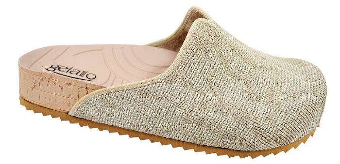 Gelateria International Pantofola Woodstock Soft Sabbia 35/36