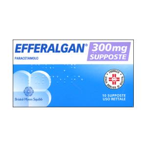 Upsa Sas Efferalgan 10 Supposte 300mg