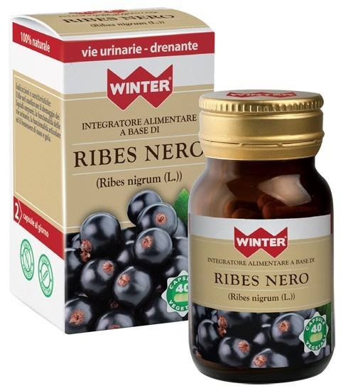 Gdp Srl-General Dietet.Pharma Winter Ribes Nero 40 Capsule Vegetali