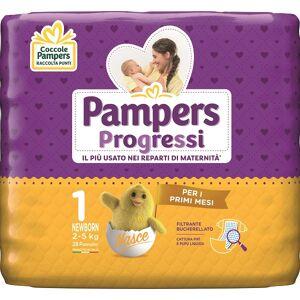 Fater Spa Pampers Progressi Newborn Pannolino 1 2-5kg 28 Pezzi