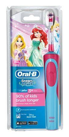Procter & Gamble Srl Oralb Pow Vitality Stages Power Principesse