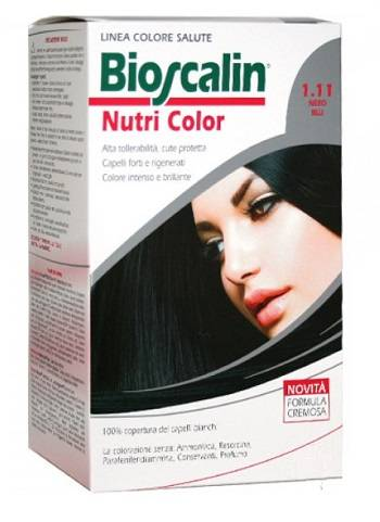 Giuliani Spa Bioscalin Nutri Color 1,11 Nero Blu Sincrob 124 Ml
