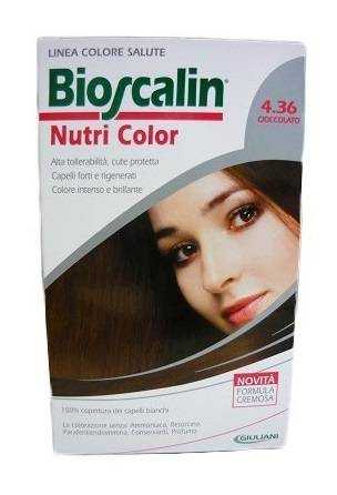 Giuliani Spa Bioscalin Nutri Color 4,36 Cioccolato Sincrob 124 Ml
