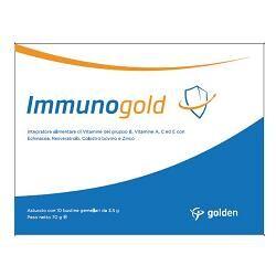 golden pharma srl immunogold 20 bustine