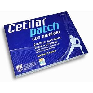 Pharmanutra Spa Cerotto Monouso Cetilar Patch Con Mentolo 5 Pezzi