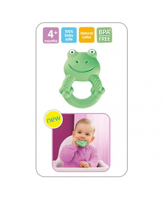 Baby Italia Mam Friends Max The Frog 4+ Mesi